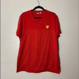 Puma Men Scuderia Ferrari Tee Size XL